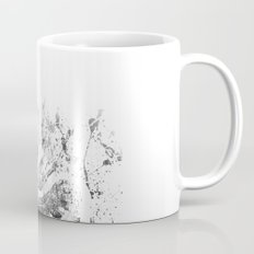 London map - Tower Bridge painting Mug