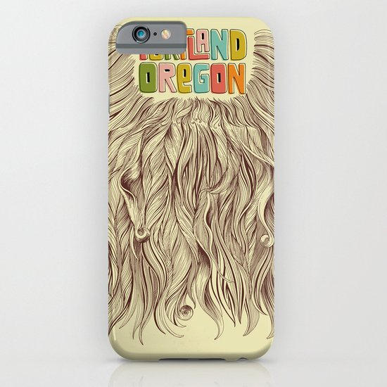 Portland = Beards iPhone & iPod Case