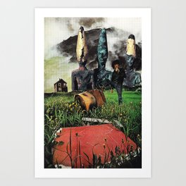 They're Coming For Us Art Print