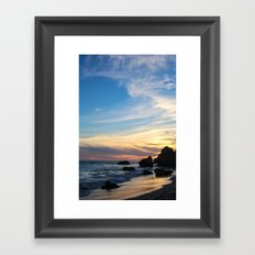 Painted Skies Framed Art Print