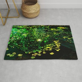 the Water Lilly Rug