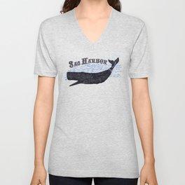 Sag Harbor Whale Unisex V-Neck