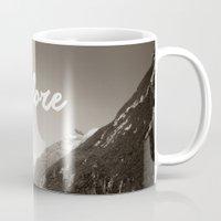 explore Mugs featuring Explore by Alisha KP