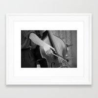 cello Framed Art Prints featuring Cello by QuiXot