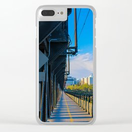 City Scape Clear iPhone Case