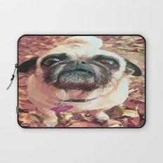 Pug Love ~ In Delilah's Eyes Laptop Sleeve