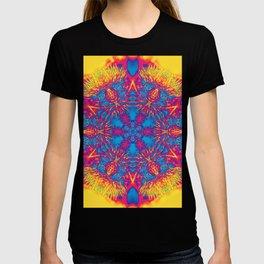 Vibrant thistle mandala T-shirt