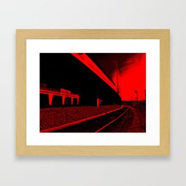 Bridge 4 Framed Art Print