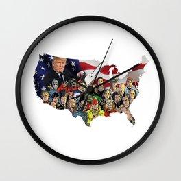 Nü America Wall Clock