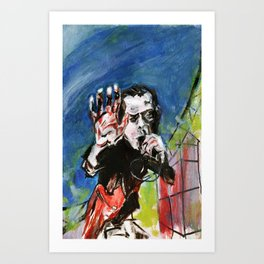 Nick Cave Red Right Hand Art Print