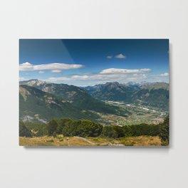 Climbing Vrh Bora Metal Print