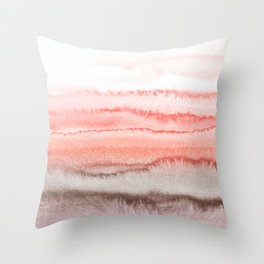 WITHIN THE TIDES CORAL DAWN Throw Pillow