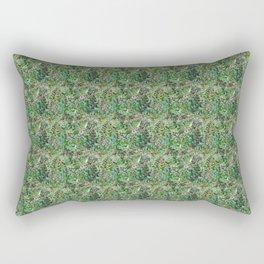 Going green in New York City Rectangular Pillow