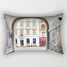 Streetart Rectangular Pillow