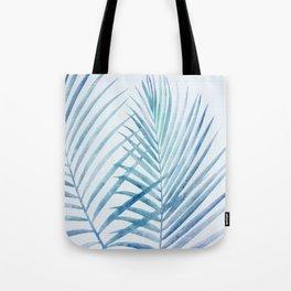 Coastal Palms Watercolor Tote Bag