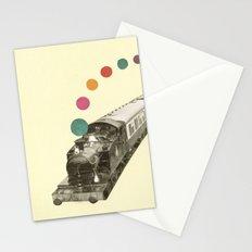 Rainbow Train Stationery Cards