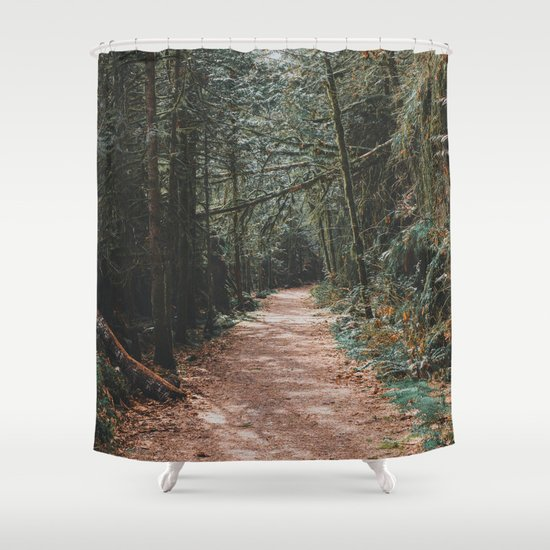 Into The Woods Shower Curtain By Lukegramphotos