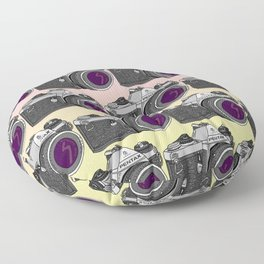 Pentax Pattern Floor Pillow