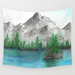 Geometric Mountain 2 Wall Tapestry