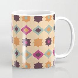 Seamless retro pattern geometrical vector texture background Coffee Mug
