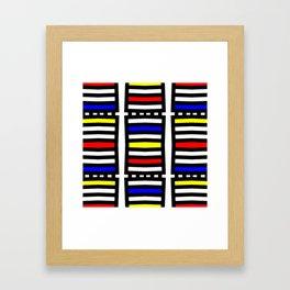 Rachna Bauhaus 6 Framed Art Print