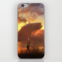 a world ruled by nature iPhone Skin