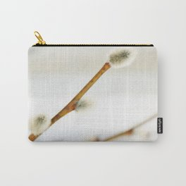 Willow branch with catkins Carry-All Pouch