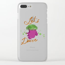 Let's Dance Clear iPhone Case