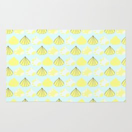 Summer time - Fabric pattern Rug