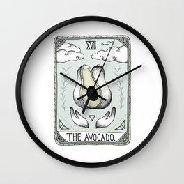 The Avocado Wall Clock