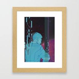 Handsome Jack. Framed Art Print