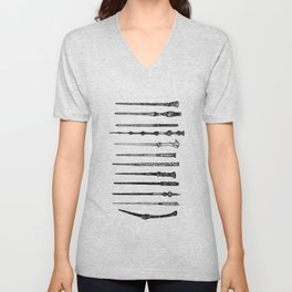 HP Wands Unisex V-Neck