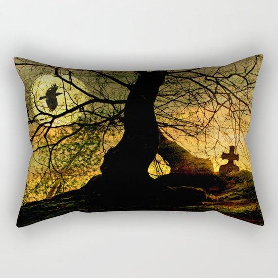 A mysterious place Rectangular Pillow