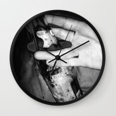 Live Long and Drink Wall Clock
