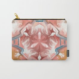 Star Feather Abstract Pattern Carry-All Pouch
