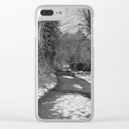 A Run on the Banks Donegal bw Clear iPhone Case