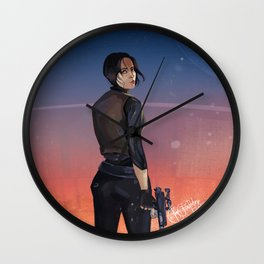 SW Rogue One Jyn Erso Wall Clock