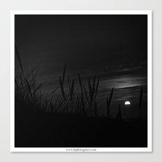 Coucher du soleil Canvas Print