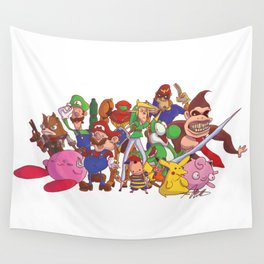 Super Smash Bros Wall Tapestry