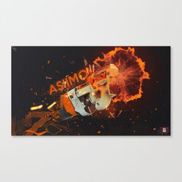 SMG 1 Canvas Print