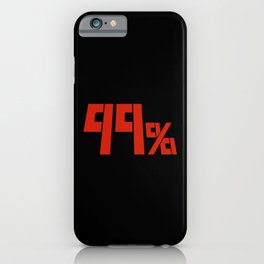 99% iPhone Case