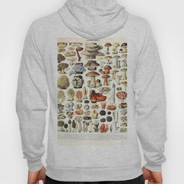 Adolphe Millot - Champignons A - French vintage poster Hoody