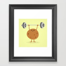 One Tough Cookie Framed Art Print