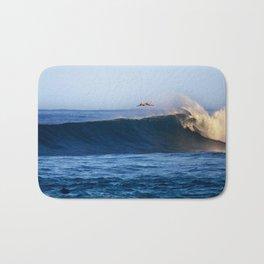 Sunrise surfing at Sunset Beach. Bath Mat