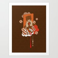 chocolate Art Prints featuring chocolate by Disnois