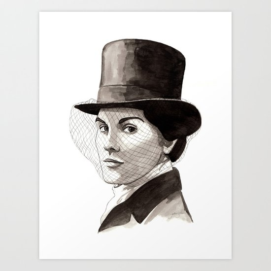 Lady Mary Art Print