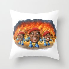 What's Happenin' To Civilization? Throw Pillow