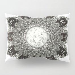 Astrology Signs Mandala Pillow Sham