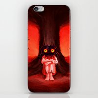 majora iPhone & iPod Skins featuring MAJORA MASK by Veylow