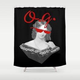 Mary Shelley, the Original Goth Shower Curtain